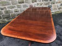 Antique Mahogany Twin Pillar Extending Dining Table (5 of 9)