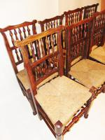 Set Of Lancashire Ladder Back Dining Chairs (2 of 7)