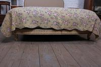 French Newly Upholstered Bow End King Size Bed (7 of 8)