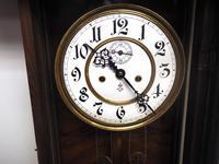 Gustav Becker Antique Walnut & Ebonised 8-day Twin Weight Striking Vienna Regulator Wall Clock (11 of 14)