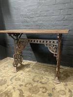 Victorian Enamelled Table (2 of 11)