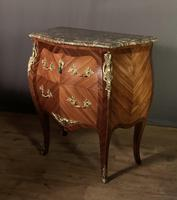 Small French Louis XVI Style Bombe Commode (6 of 12)