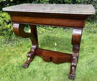 French Louis Philippe Console Table (7 of 7)