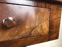 Victorian Mahogany Two Drawer Side or Console Table (3 of 17)