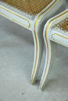 Pair of Regency Style Painted Dining Chairs (8 of 10)