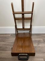 Mid 20th Century Artists Studio Tabletop Easel with Carry Handle & Drawer (15 of 28)