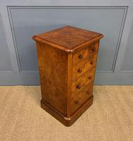 Pair of Burr Walnut Bedside Chest by Heal and Son (15 of 16)