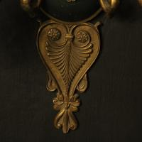 French Pair of Gilded Empire Antique Wall Lights (8 of 10)