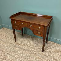 Elegant Victorian Mahogany Antique Writing Table (5 of 5)