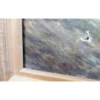Pair of George H. Knight Oil on Canvas Paintings of Marine Scenes (8 of 9)