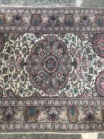Antique Mughal Kashmir Wool Carpet (3 of 8)