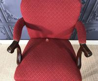 Mahogany Desk Chair c.1920 (5 of 8)