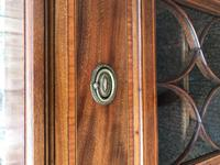 Wonderful Edwardian Inlaid Mahogany Four Door Breakfront Bookcase by Maple & co (9 of 14)