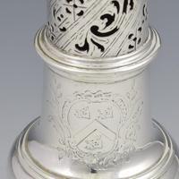 George II Silver Pepper Caster Jabez Daniell London 1758 (6 of 7)