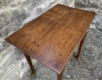 18th Century Georgian Oak Pad Foot Side Table (15 of 15)