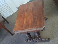Antique Dolphin Table (7 of 7)