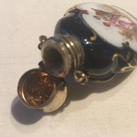 Antique Porcelain Chatelaine Scent Bottle (2 of 5)