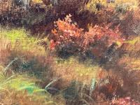 """Oil Painting Scottish Stags """"Denizens of the Highlands"""" Signed Wendy Reeves (16 of 45)"""