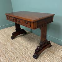 Quality Victorian Mahogany Antique Writing Library Table (2 of 6)