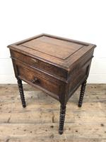 Early 19th Century Oak Box on Stand (12 of 12)