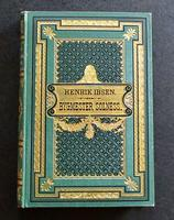 1892 1st Edition - Bygmester Solness by Henrik Ibsen