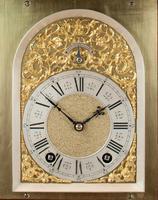 Fine Quality Burr Walnut Bracket / Mantel Clock By Lenzkirch (9 of 11)
