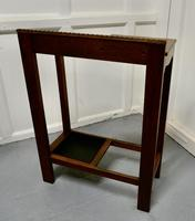 A Golden Oak Hall Table Stick Stand, (3 of 7)