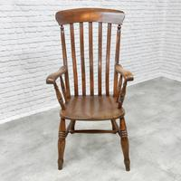 19th Century Windsor Lathback Armchair (5 of 6)
