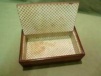 Genuine Tunbridge Ware Box. 100% Original. c1875 (4 of 9)