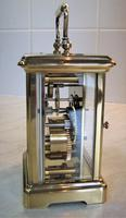 1940's Bornand Frères English Made Carriage Clock (4 of 7)