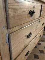 Antique Pine Two Over Two Chest of Drawers (4 of 10)