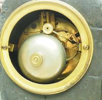 Art Nouveau Figural Mantel Clock Set 8 Day (10 of 11)