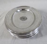 Silver Plated Salvers / Serving Plates 19th Century (6 of 9)