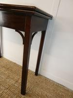 Neat English 18th Century Turn Over Side Table (5 of 8)