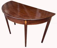 Superb Pair of George III Mahogany Console Tables (7 of 10)