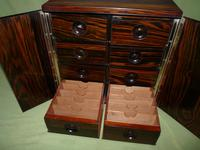 Rare Calamander Cabinet of Drawers. Very Versatile. c1880 (18 of 19)