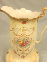 Antique Impressive Large Decorated Crown Ducal Ware Jug (2 of 7)