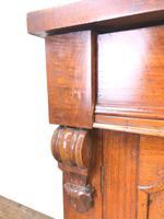 Victorian Mahogany Chiffonier with Mirror Back (6 of 10)