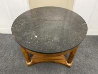French Marble Top Empire Centre Table (4 of 16)