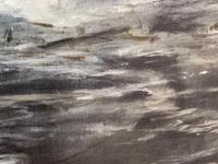Huge 19th Century Seascape Oil Painting Sinking Ship Signalling Rescuers by Henry E Tozer (21 of 58)