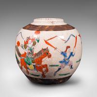 Small Antique Flower Vase, Japanese, Ceramic, Posy Urn, Edo Period c.1850 (3 of 12)