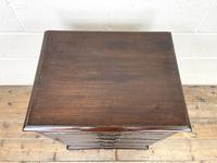 Early 20th Century Oak Four Drawer Chest (4 of 7)