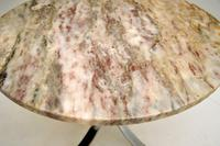 1960's Vintage Marble & Chrome Coffee Table (7 of 8)