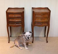 Pair of French Oak Bedside Cabinets (2 of 9)