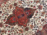 Antique Sarouk Rug (6 of 11)