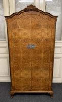 Burr Walnut Fitted Wardrobe