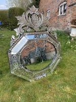 Large 19th Century Venetian Mirror (2 of 6)