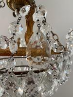 A Single Light French Waterfall Chandelier (7 of 8)