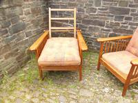 Pair of Arts & Crafts Reclining Chairs (4 of 12)