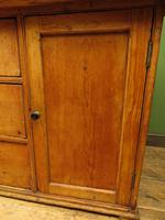 Victorian Rustic Antique Pine Sideboard Kitchen Unit (11 of 22)